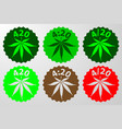 international day for cannabis vector image