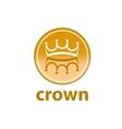 logo crown vector image vector image