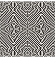 Seamless Organic Rounded Jumble Lines vector image vector image