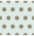 seamless pattern of hand wheels and waves vector image vector image