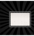 retro cinema sign 1 vector image