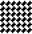 abstract seamless pattern background black and vector image