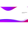 abstract wave background with gradient pink and vector image
