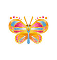 beautiful colorful butterfly vector image vector image