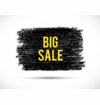 big-sale-yellow vector image vector image