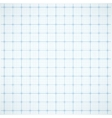 Blue square grid on white background vector image vector image