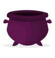 Empty pot vector image