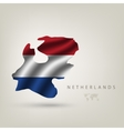 flag of Holland as a country vector image vector image
