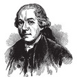 henry laurens vintage vector image vector image