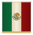 mexico wall hanging vector image vector image