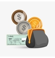Money design Financial item Isolated vector image vector image