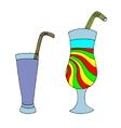 Set of cocktails vector image