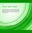 abstract circle rectangle background in green vector image