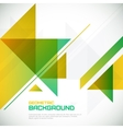 Abstract geometrical background with triangles and vector image vector image