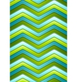 Abstract green and turquoise curved stripes vector image vector image