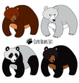 Bears Set vector image