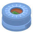 big football arena icon isometric style vector image vector image