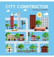City Constructor Design Elements vector image vector image