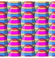 egg striped pattern vector image vector image