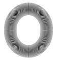 Halftone Symbols vector image vector image