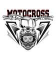 Helmet motocross skull motocross rider