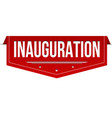 inauguration banner design vector image