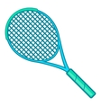 Tennis racket icon cartoon style vector image vector image