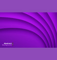 violet wavy background business card pattern vector image vector image
