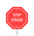 world stroke day concept vector image