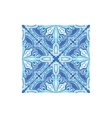 Geometric Pattern Azulejo Tile Portuguese Famous vector image vector image