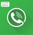 phone icon business concept contact support vector image vector image