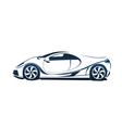 Speedy racing sport car vector image vector image