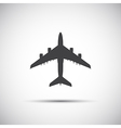 Plane icon simple vector image