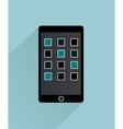 Smartphone Isolated Icon vector image vector image