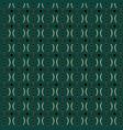 art deco circle pattern vector image vector image