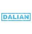 Dalian Rubber Stamp vector image vector image