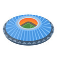 europe soccer arena icon isometric style vector image vector image