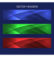 headers set vector image