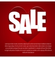 I love you Card Sale Valentines Day vector image vector image