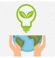 planet and energy isolated icon design vector image