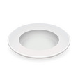white china bowl vector image vector image