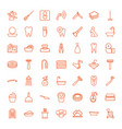 49 hygiene icons vector image vector image