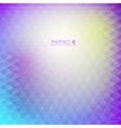 Abstract purple geometric pattern vector image