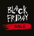 black friday sale handmade lettering vector image vector image