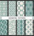 circle geometric patternpattern fills web page vector image vector image