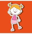 happy kids design vector image