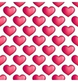 hearts seamless pattern Love simple vector image vector image