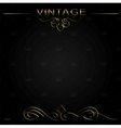 seamless vintage background or frame vector image