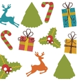 set icons pattern christmas icon vector image vector image