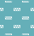 taxi cab pattern seamless blue vector image vector image